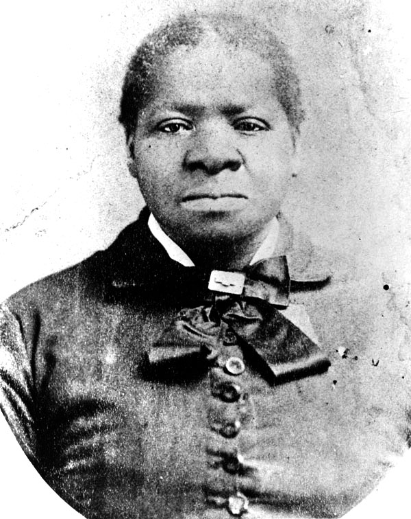 The only known photograph of Biddy Mason