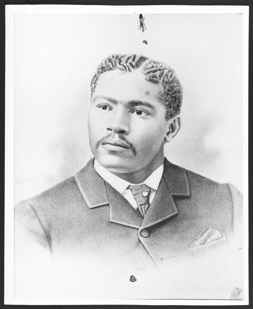 Grandson, Robert Curry Owens at age 30. Photograph from University of California, Los Angeles. Library Special Collections